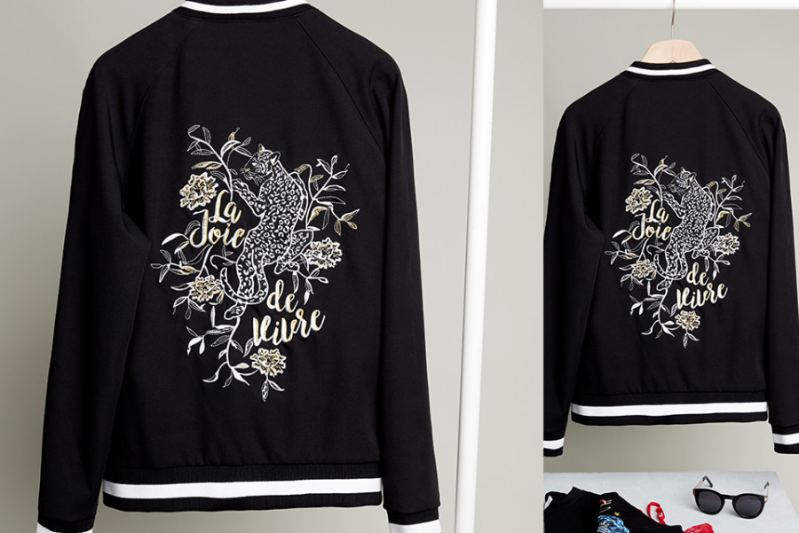 Costes Studio Embroidery Bomber